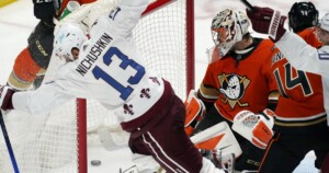 Valeri Nichushkin lifts Avalanche to overtime win over Ducks, who have lost nine straight