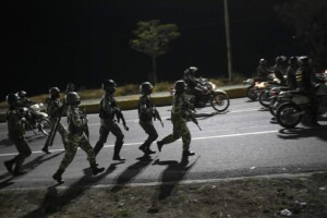 US lets Venezuelans stay temporarily, will review sanctions