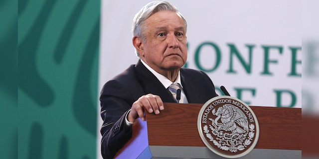 Mexico's president says Biden immigration policies prompting border surge
