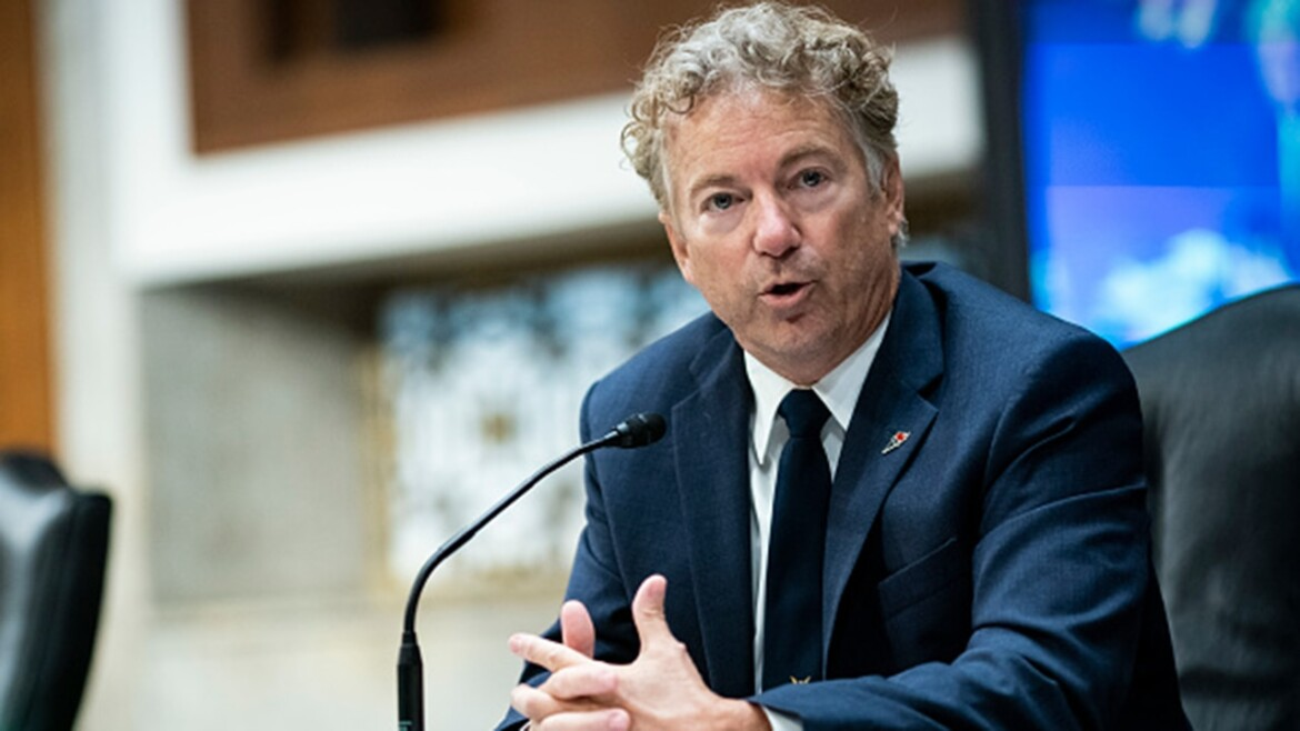 Rand Paul claims victory in fight over PPP money to Planned Parenthood in Senate COVID relief bill