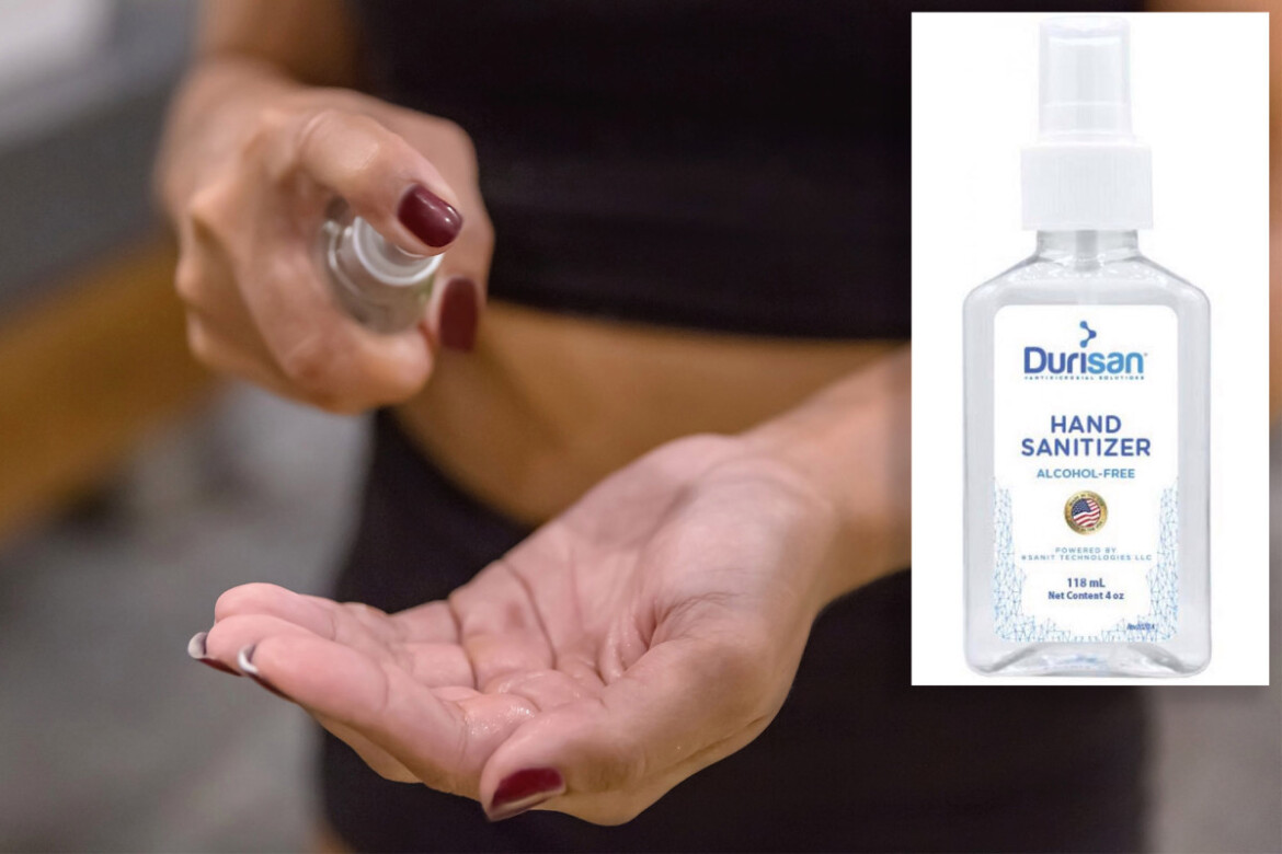 Durisan hand sanitizer recalled over risk of serious infections