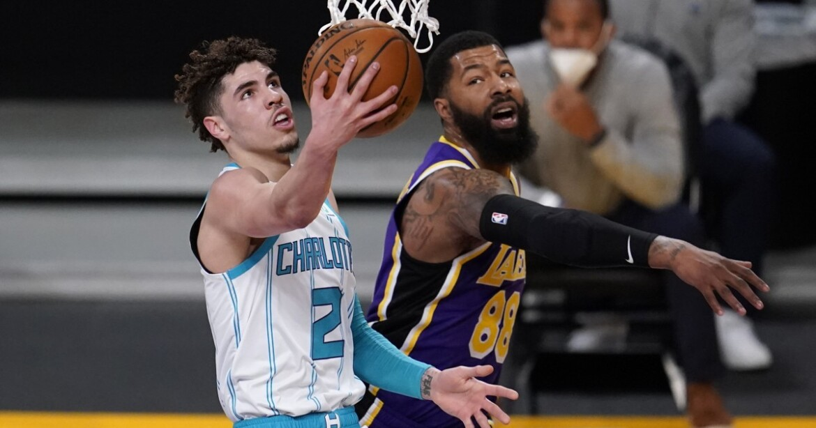 LaMelo Ball shines in Lakers showdown, but only to a degree