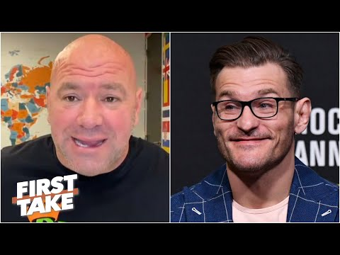 Dana White names his UFC Mount Rushmore and sees Stipe Miocic as the heavyweight GOAT | First Take