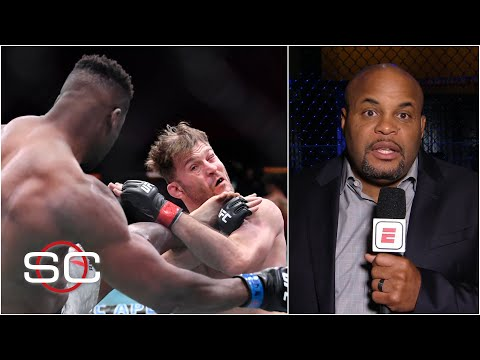 Daniel Cormier reacts to Francis Ngannou's KO of Stipe Miocic at UFC 260 | SportsCenter