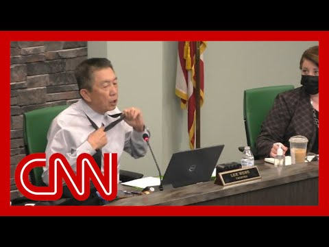 Veteran reveals scars during meeting, asks 'Is this patriot enough?'