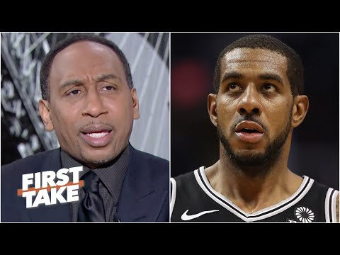 Stephen A. is 'irritated' by LaMarcus Aldridge signing with the Nets   First Take