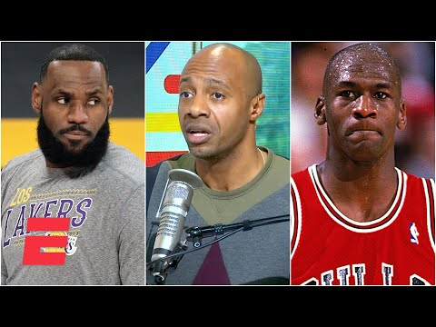 LeBron is the undisputed GOAT over Michael Jordan if he beats the Nets – JWill   KJZ