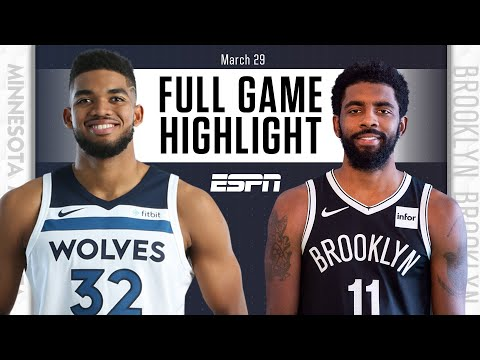 Kyrie Irving returns to Nets vs. Wolves [FULL GAME HIGHLIGHTS] | NBA on ESPN