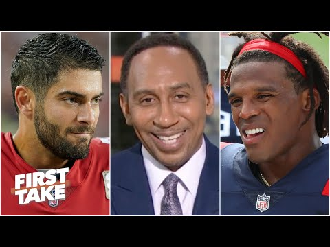 Stephen A. proposes a Jimmy G-for-Cam Newton trade | First Take