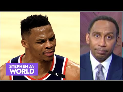 Stephen A. calls out Russell Westbrook for never developing his 3-point shot   Stephen A's World