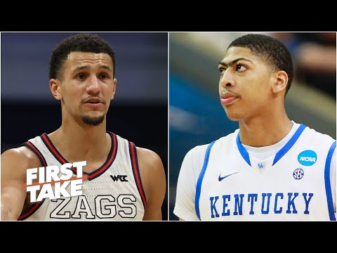 How does Gonzaga compare to Anthony Davis' Kentucky and other historic teams? | First Take