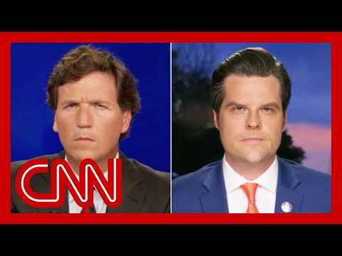 Tucker Carlson's interview with Matt Gaetz gets uncomfortable