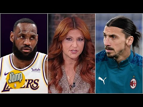 The Jump discusses Zlatan's comments about LeBron James