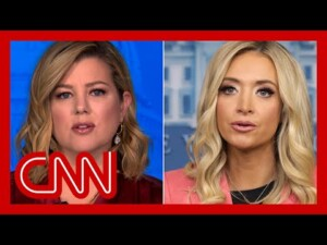 Keilar calls out Kayleigh McEnany's Capitol riot claims