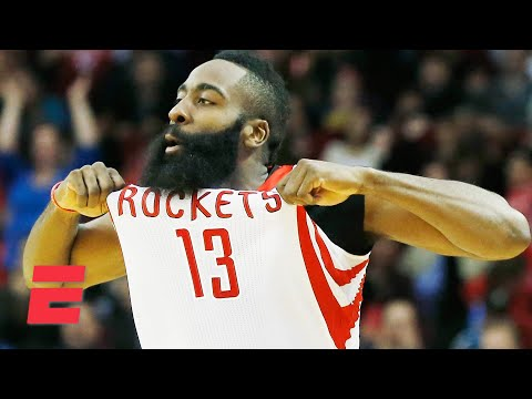 The Rockets to retire James Harden's No. 13 | KJZ