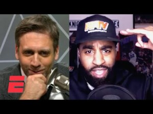 Knicks 'hater' Max Kellerman confronted by superfan Casey Powell | The Max Kellerman Show