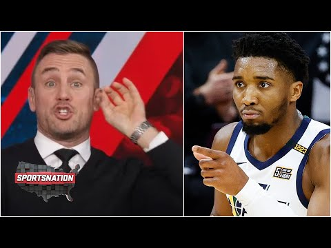 Taylor Twellman SOUNDS OFF on the refs in Jazz-76ers game | SportsNation