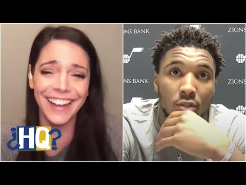 Katie Nolan breaks down an NBA ref conspiracy theory after Donovan Mitchell's postgame comments | HQ