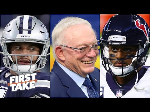 Are the Cowboys mishandling their QB situation more than the Texans?   First Take