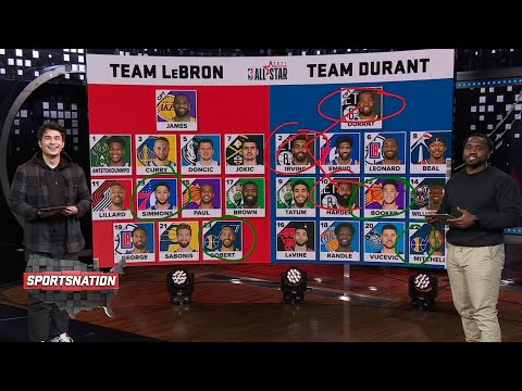SportsNation reacts to the 2021 NBA All-Star Draft