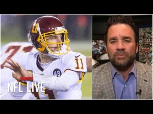 Washington releases Alex Smith: What's next for him and the team? | NFL Live