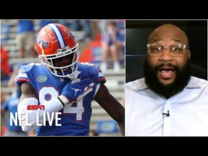 Could Kyle Pitts be drafted before ANY wide receiver in the 2021 NFL Draft? | NFL Live