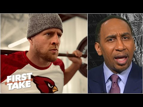 J.J. Watt doesn't make the Cardinals a threat to win the NFC West – Stephen A. | First Take