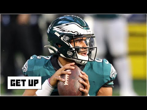 Debating Jalen Hurts' franchise QB potential: Will the Eagles rely on Hurts for the future? | Get Up