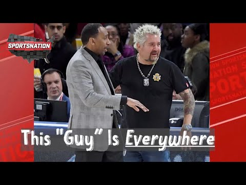 Guy Fieri on his memorable sports moments with Stephen A., Steph Curry & Tom Brady   SportsNation