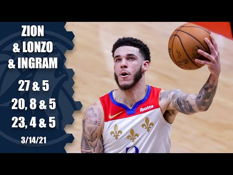 Zion, Lonzo & Ingram help Pelicans blow out Kawhi & the Clippers [HIGHLIGHTS] | NBA on ESPN