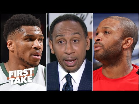 Stephen A.'s thoughts on Giannis' pressure to win the East and the P.J. Tucker trade | First Take