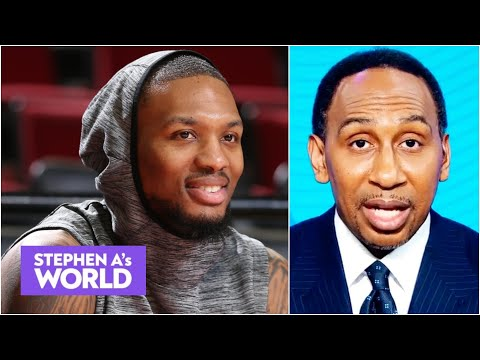 Stephen A. celebrates Dame Time: Damian Lillard is just getting started!   Stephen A's World