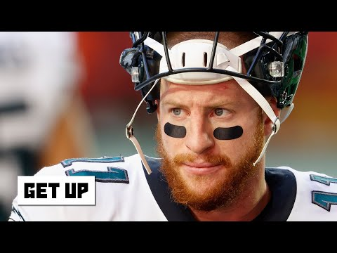 Reacting to Carson Wentz saying 'it wasn't fun' being benched last season | Get Up