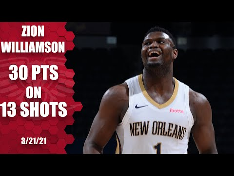 Zion drops 30 points on 13 shots to help Lonzo-less Pelicans beat Nuggets [HIGHLIGHTS] | NBA on ESPN