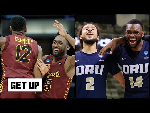 Reacting to Loyola-Chicago and Oral Roberts advancing to the Sweet 16 in the NCAA tournament |Get Up
