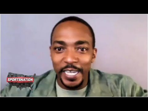 Anthony Mackie's SportsNation interview on Zion, the Saints and his new Disney+ series