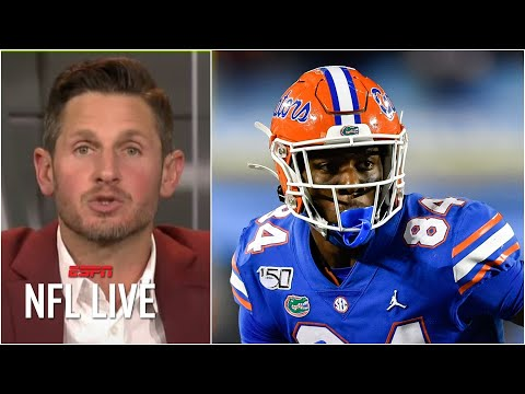 Absolutely not! – Orlovsky dislikes the Bengals drafting Kyle Pitts in Kiper's 3.0 Mock   NFL Live