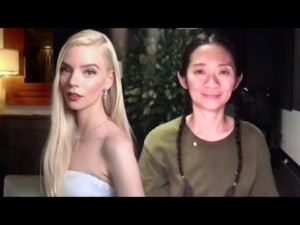 2021 Golden Globes Historic Wins: Anya Taylor-Joy & Chloe Zhao