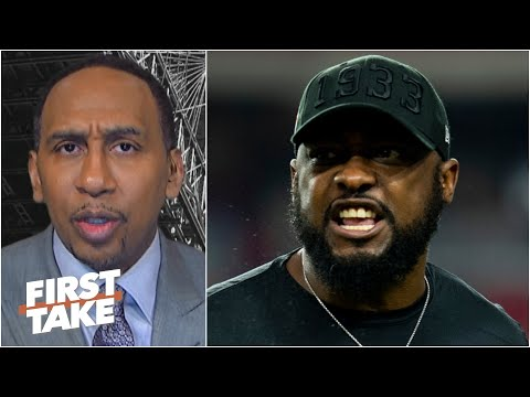 Stephen A. on Mike Tomlin's comments about the lack of black head coaches in the NFL | First Take