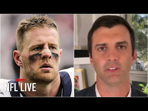 Reacting to J.J. Watt agreeing to a 2-year/$31M deal with the Cardinals | NFL Live