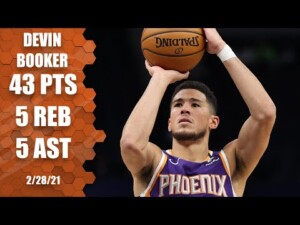 Devin Booker erupts for 43 points in win over Timberwolves [HIGHLIGHTS] | NBA on ESPN