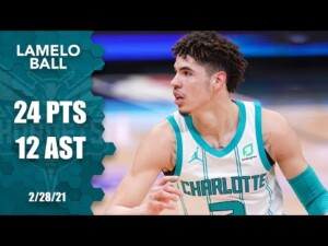 LaMelo Ball posts 24 points and 12 assists in Hornets' win vs. Kings [HIGHLIGHTS] | NBA on ESPN