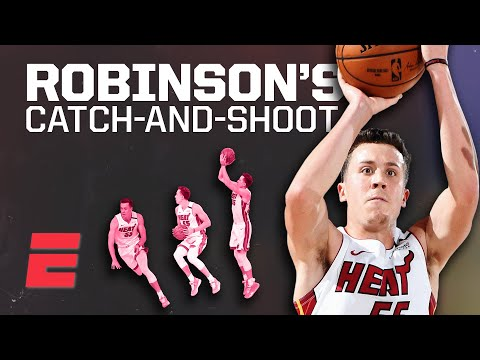 Duncan Robinson's 3-point shooting took him from the G-League to the record books | Signature Shots