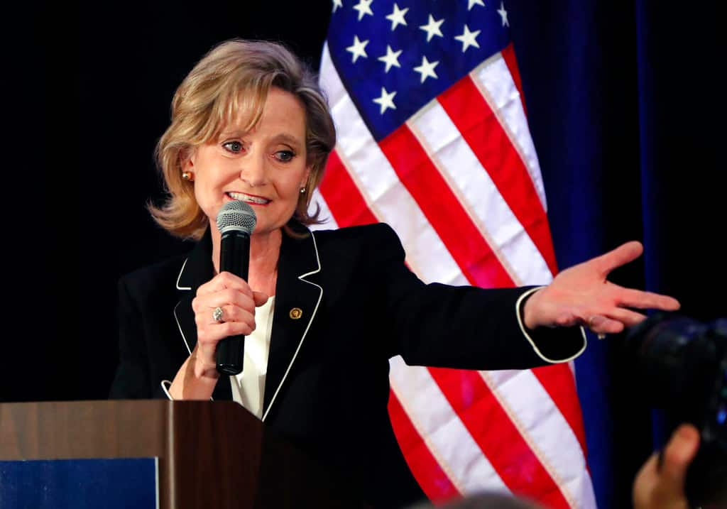 Mississippi GOP Sen. Cindy Hyde-Smith defends closing polls on Sunday, citing the Sabbath