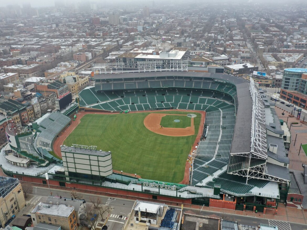 Wrigley Field could join United Center as mass vaccination site