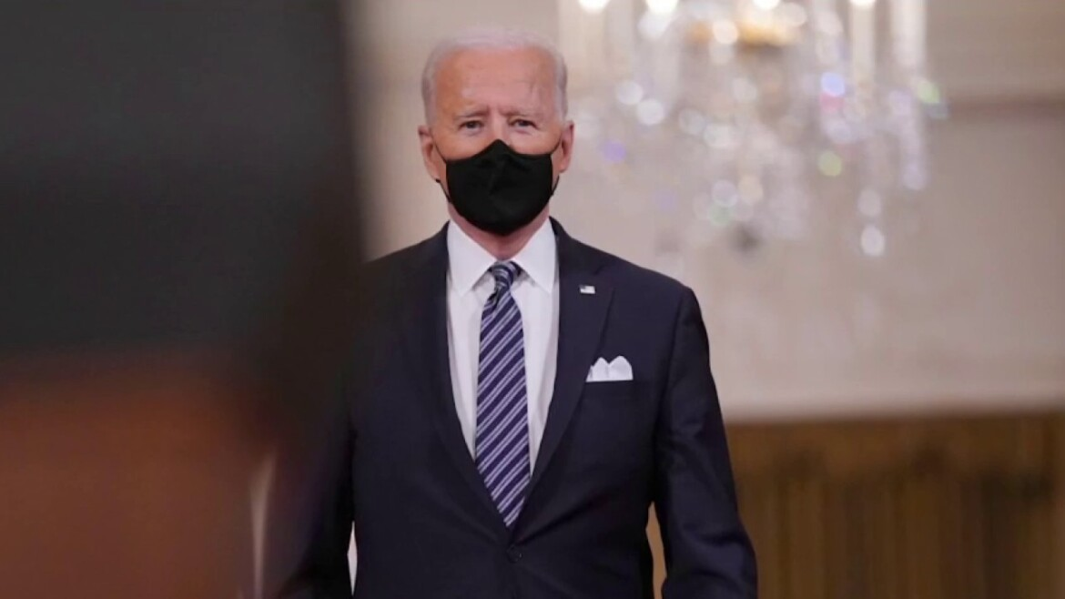 Biden says migrant surge at southern border started under Trump