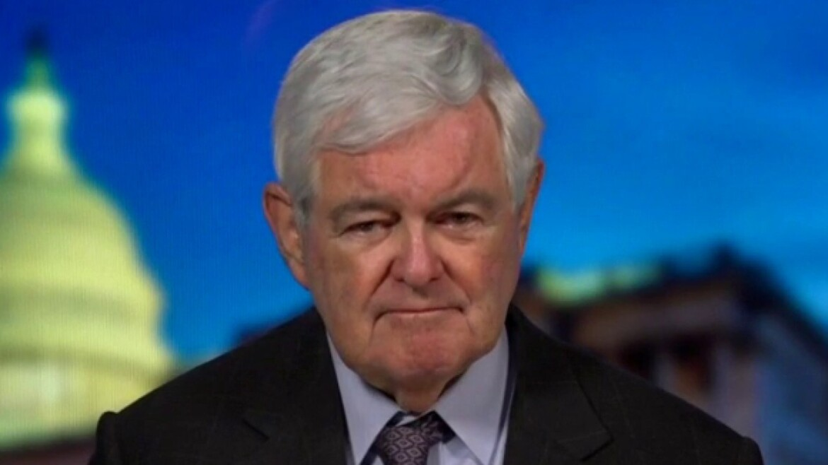 Gingrich claims Democrats have 'given up keeping House' in 2022, are 'ramming through everything they can'