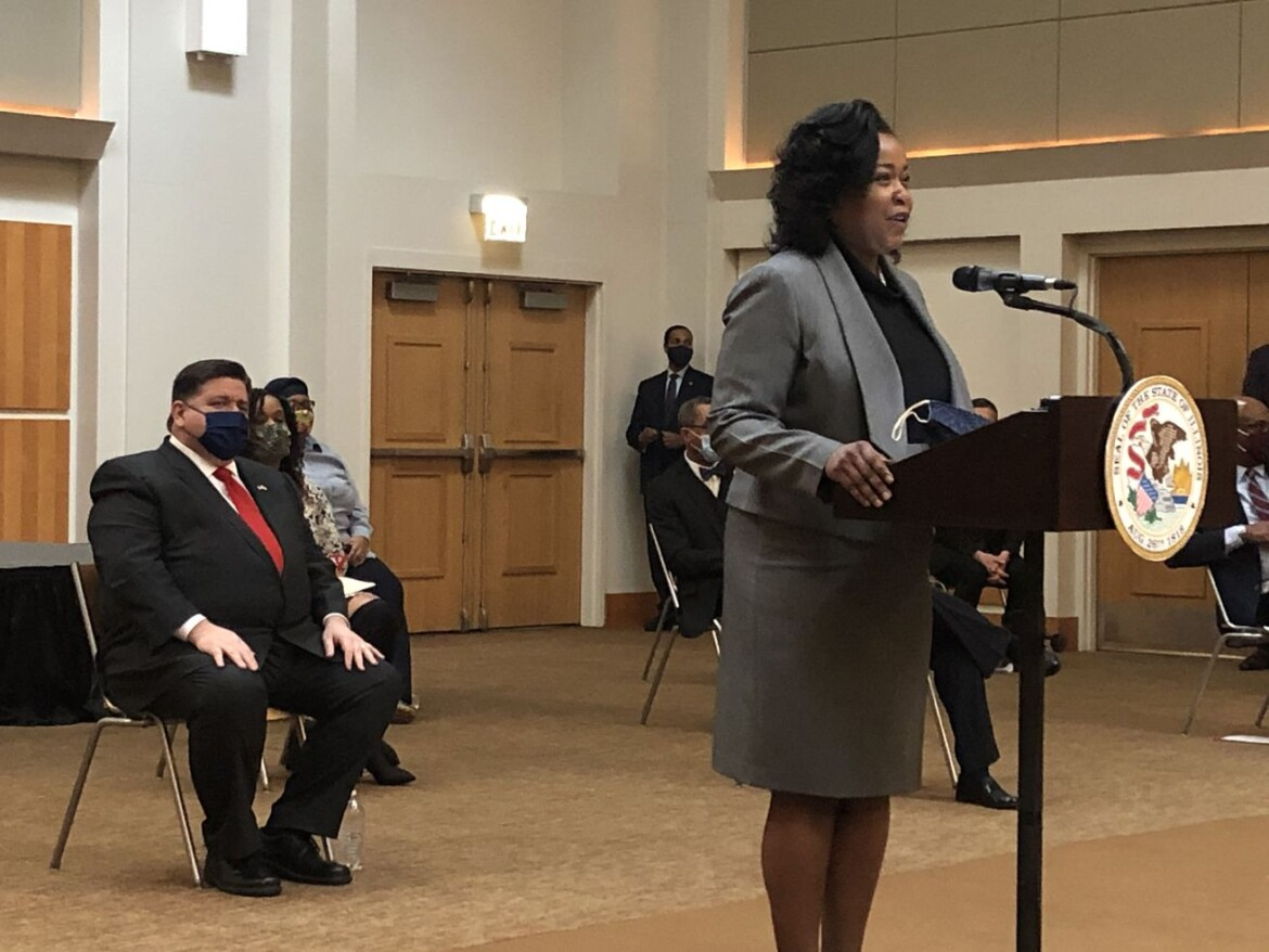 Pritzker, Black Caucus members celebrate recently-signed bills for economic equity