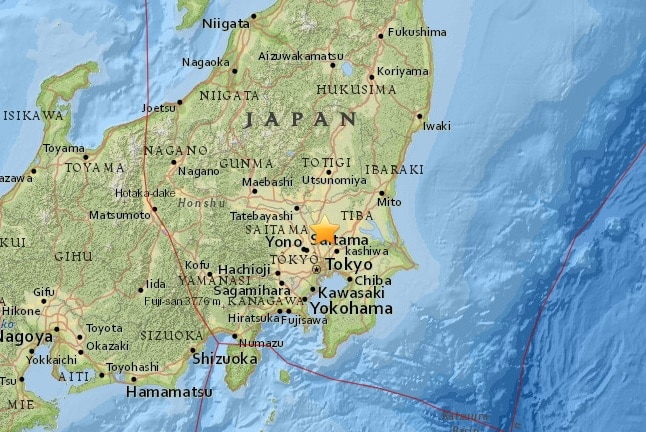 Strong quake shakes Japan; no immediate damage reported