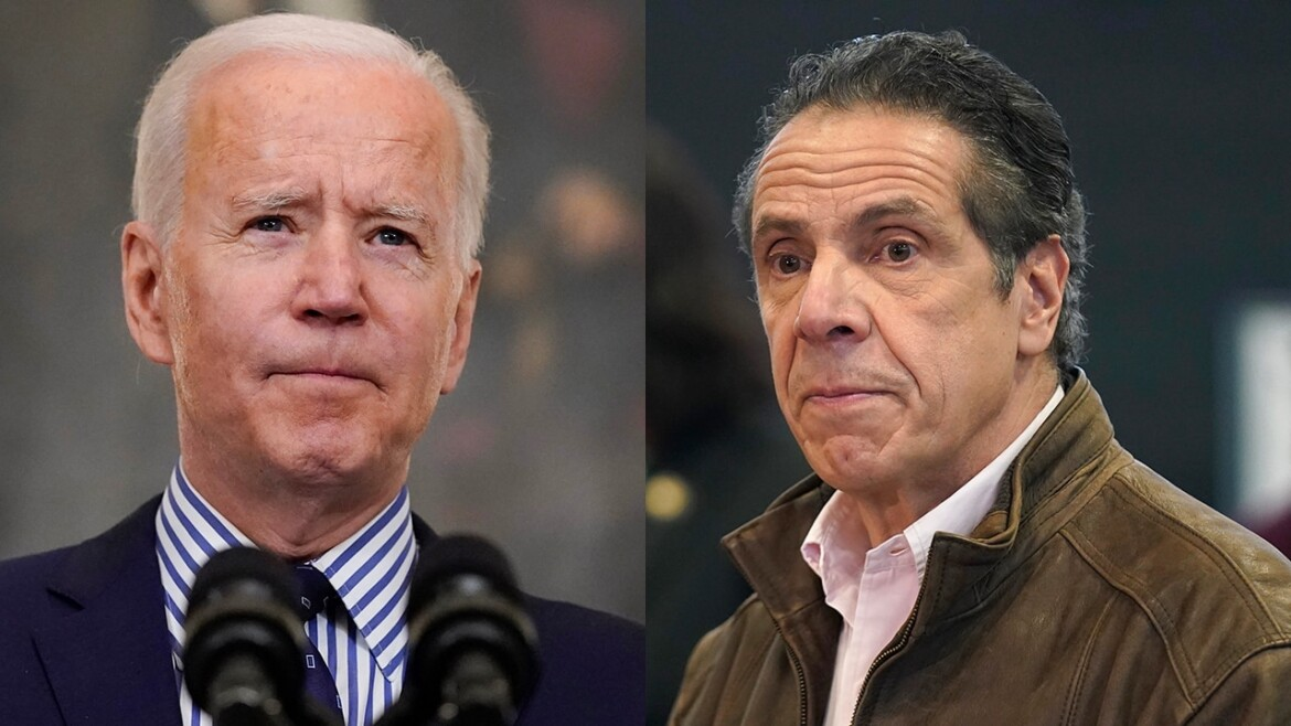 Biden signs executive orders on combating sexual harassment, coinciding with Cuomo scandal